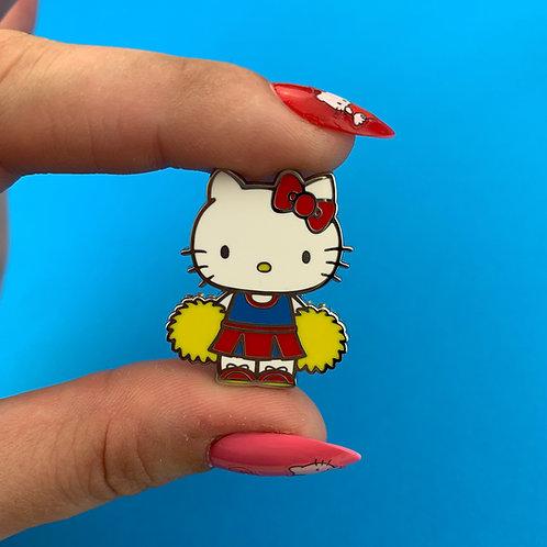 Hello Kitty Cheerleader Enamel Pin by Erstwilder
