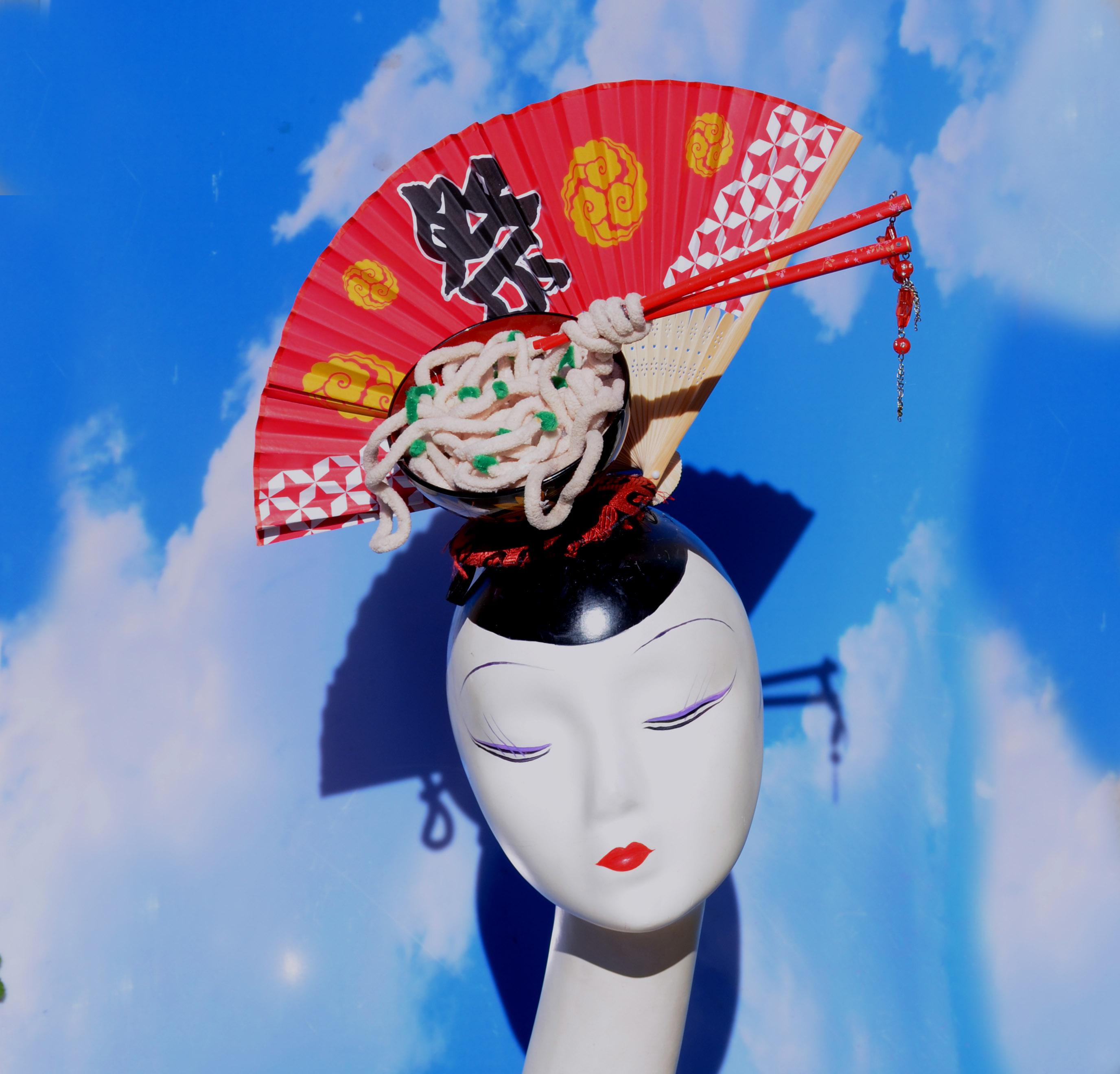 Udon Fan Korean Japanese Costume