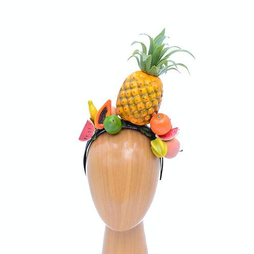 Carmen Miranda Pineapple & Mixed Fruit Headband