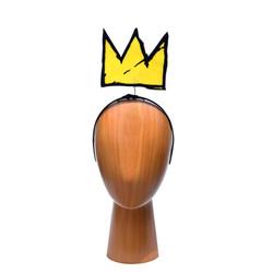 Basquiat 5inch Yellow Crown Headband