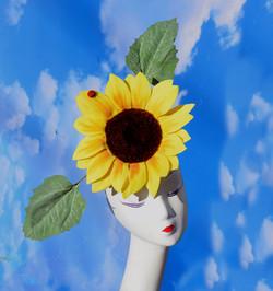 Sunflower Costume Headpiece