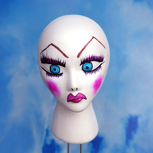 Lil Poundcake Inspired Display Mannequin Head