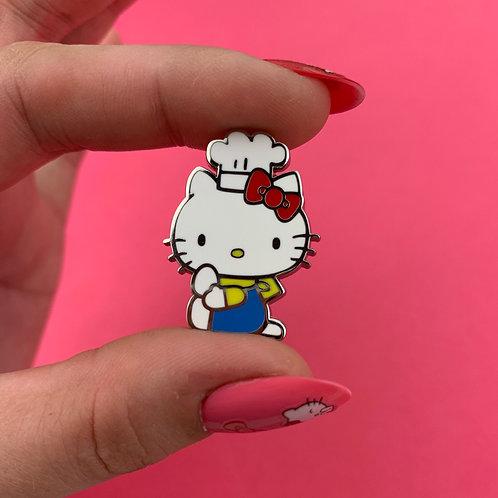 Hello Kitty Chef Enamel Pin by Erstwilder
