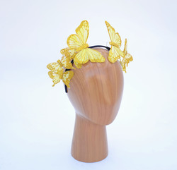 Snapchat Gold Butterfly Crown - Selfie,