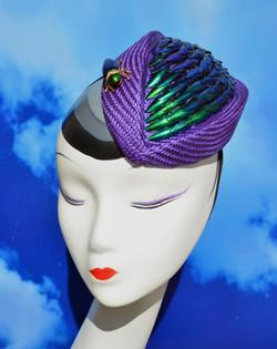 Beetle Wings Percher Hat
