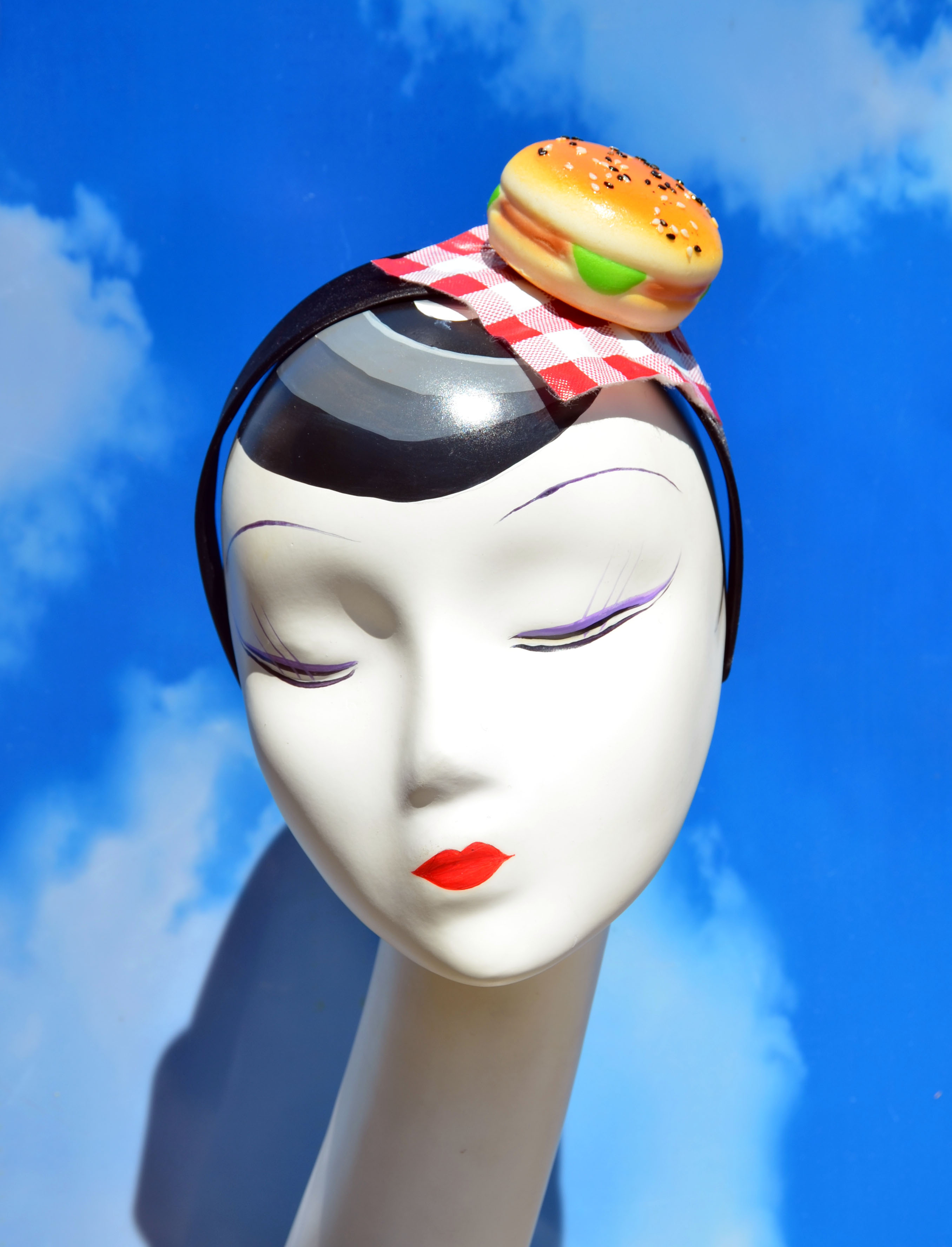 BBQ Burger Picnic Headband