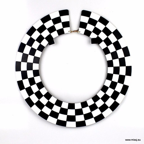 Harlequin Collar Necklace by MissJ Designs