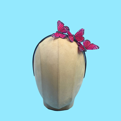 Budget Trio Feather Butterfly Headband