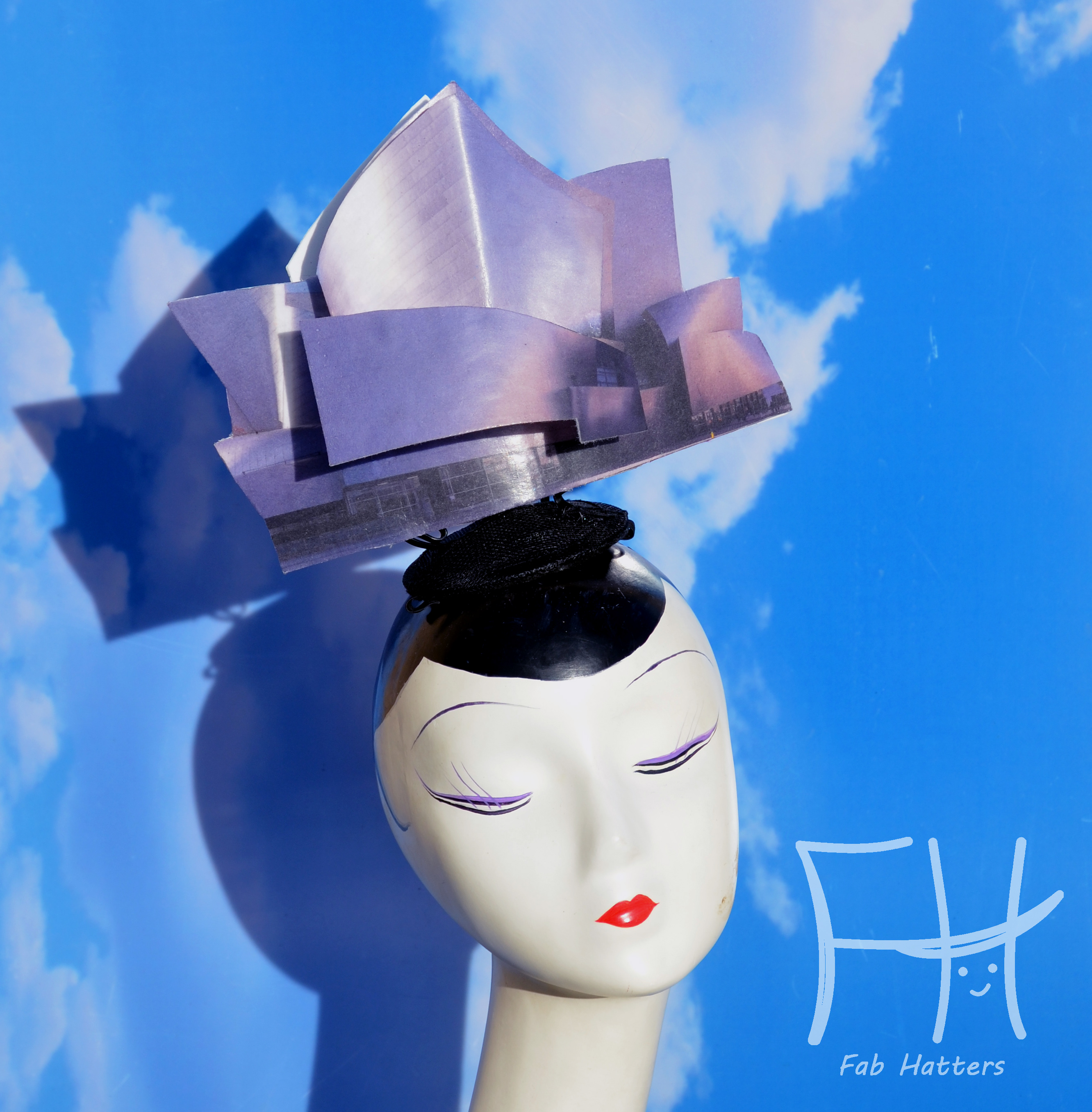 Disney Concert Hall Surrealist Hat