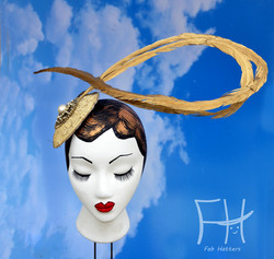 Miss Fame Feather Fascinator
