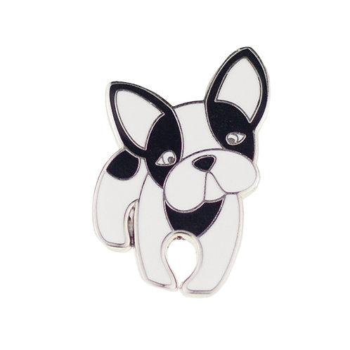 Fabian the French Bulldog Enamel Pin by Erstwilder | Dog