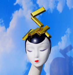 Gold Bars Headband