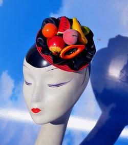 Fruit Bowl Rockabilly Fascinator