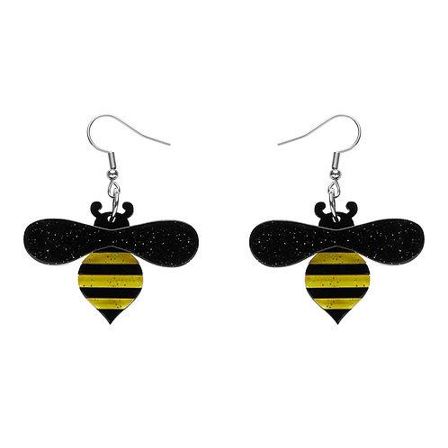 Babette Bee Earrings by Erstwilder | Bee