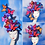 """Thumbnail: Multi-Color Rainbow """"Madame Butterfly"""" Fascinator Hat"""