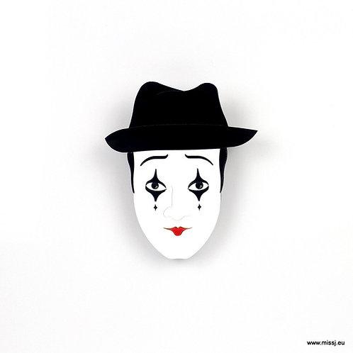 Mime Brooch by MissJ Designs