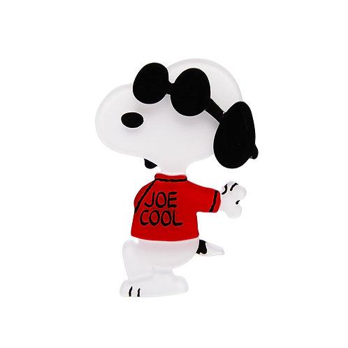 Joe Cool Brooch by Erstwilder | Peanuts Snoopy