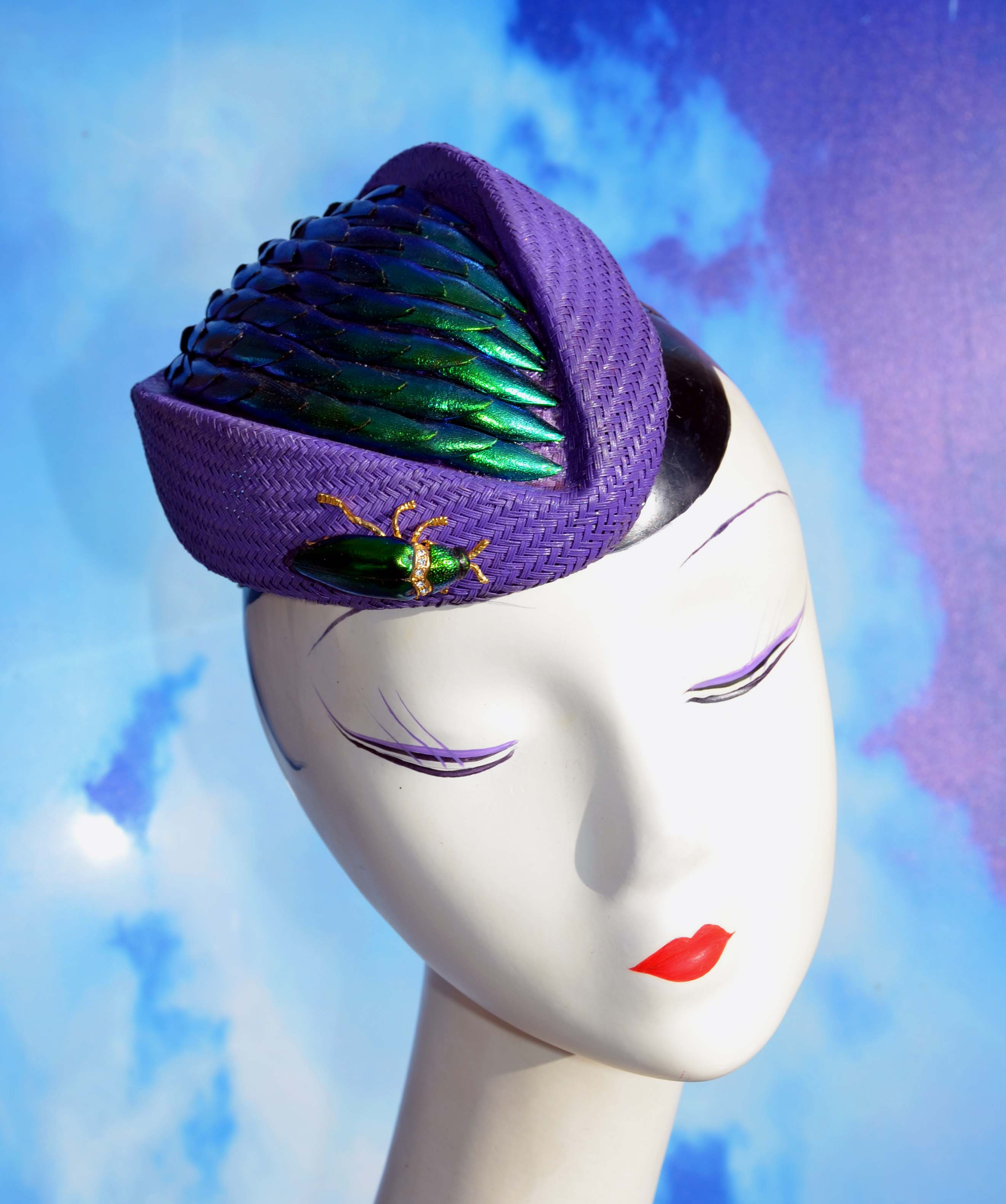 Beetle Wing Hat