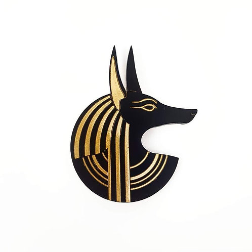 Anubis Rises Brooch by MissJ Designs
