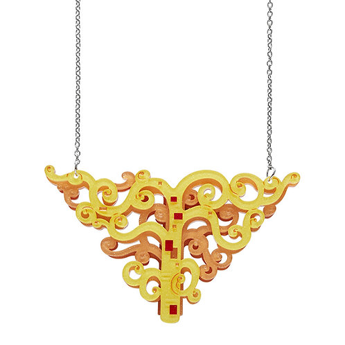 Tree of Life Necklace by Erstwilder   Gold Tree