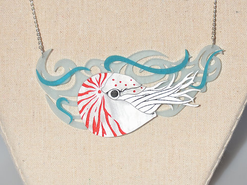 Nautilus Necklace by KimChi & Coconut