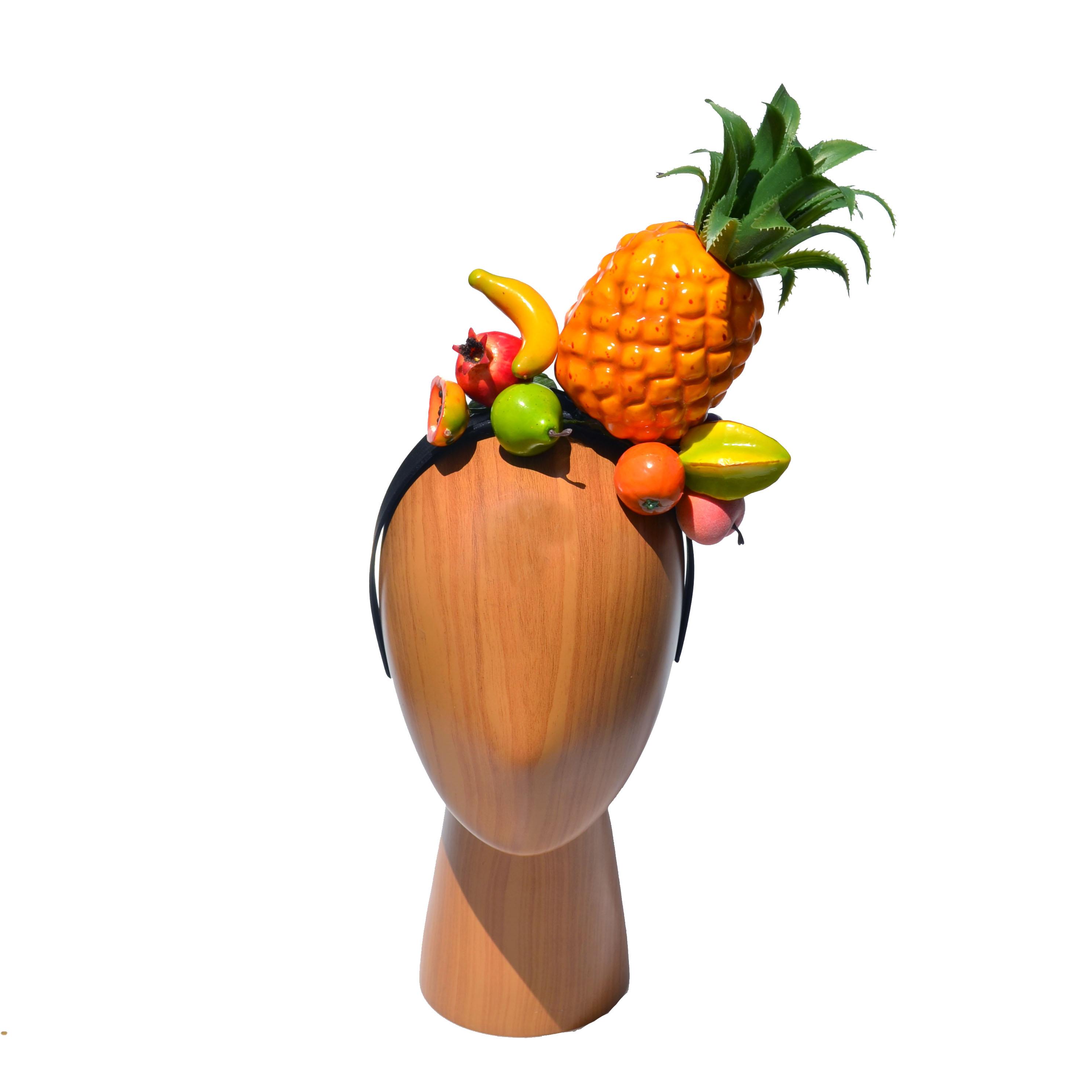 Carmen Miranda Fruit Headband Costume