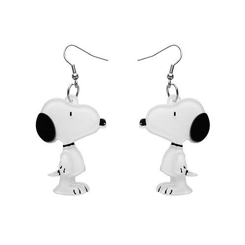 Snoopy Drop Earrings Erstwilder | Peanuts Snoopy
