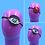 Thumbnail: Surreal Eye or Heart Eyepatch : Beaded Evil Eye, Red or Gold Sequin Heart Eyepat