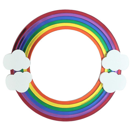 Rainbow Bangle Bracelet by Lou Taylor