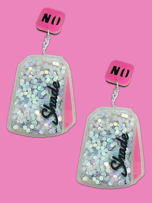 No Shade Earrings by Power & Stiletto