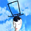 Thumbnail: 2D Jump from Paper Cartoon Top Hat