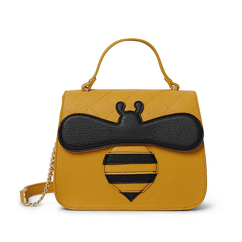 Babette Bee Top Handle Bag | Erstwilder Handbag Purse