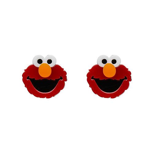 Elmo Earrings by Erstwilder | Sesame Street | Red