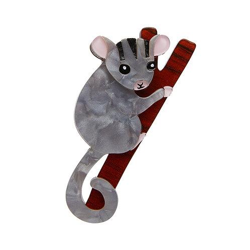 Possum at Play Brooch by Erstwilder | Oppossum