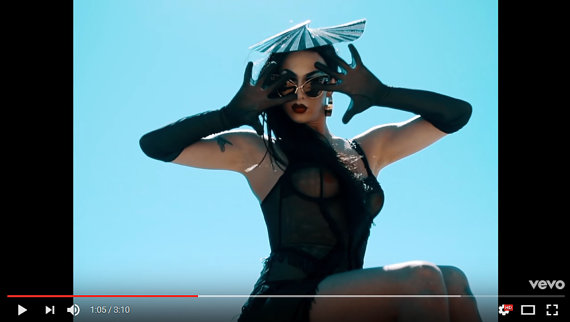 Violet Chachki & Allie X All the Rage by