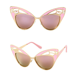 Pink Butterfly Sunglasses