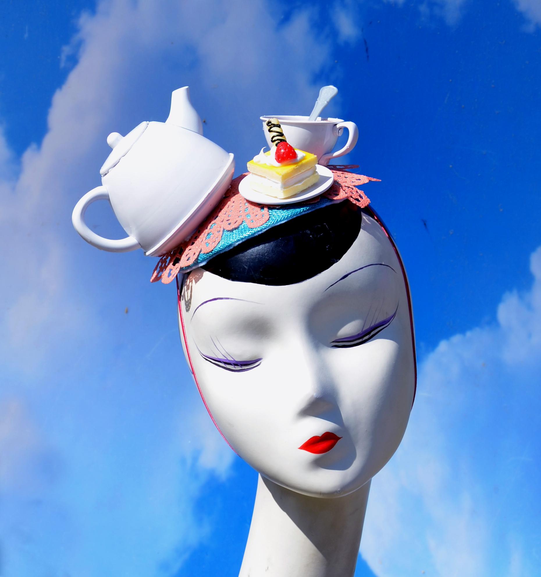 Tea Party Fascinator Hat (1)
