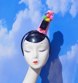 Pink Gumball Machine Headband