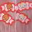 Thumbnail: RED KEWPIE BOW SET by InterroBangBang  | Blonde or Brunette Baby on