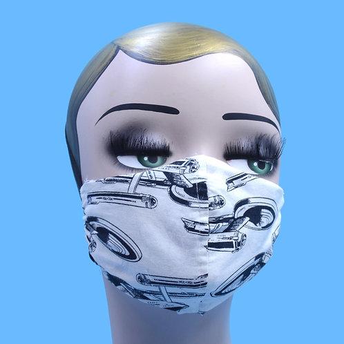 Star Trek Print Face Mask w/ Filter Pocket