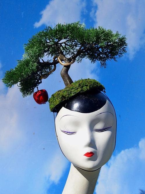"Bonsai  ""Garden of Eden"" Surrealist Fascinator Hat"
