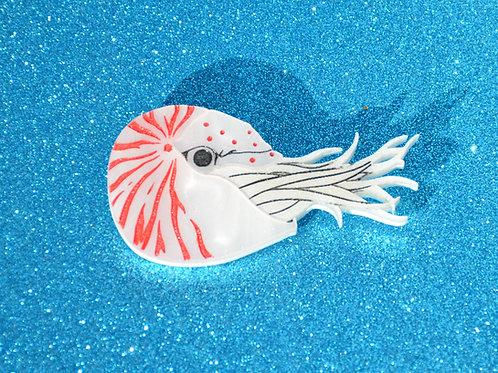 Nautilus Brooch by KimChi & Coconut