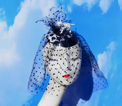 101 Dalmatians Disney Pinup Spotted Coccktail Hat