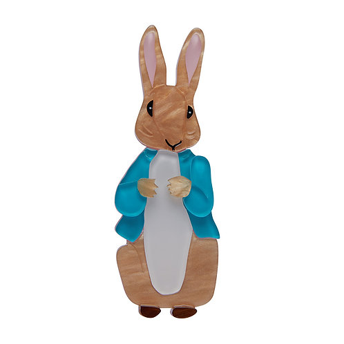 PETER RABBIT Brooch by Erstwilder | Peter Rabbit | Bunny