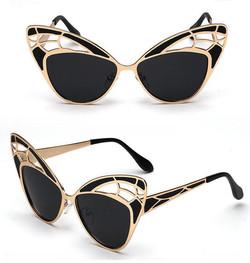 Black Butterfly Sunglasses