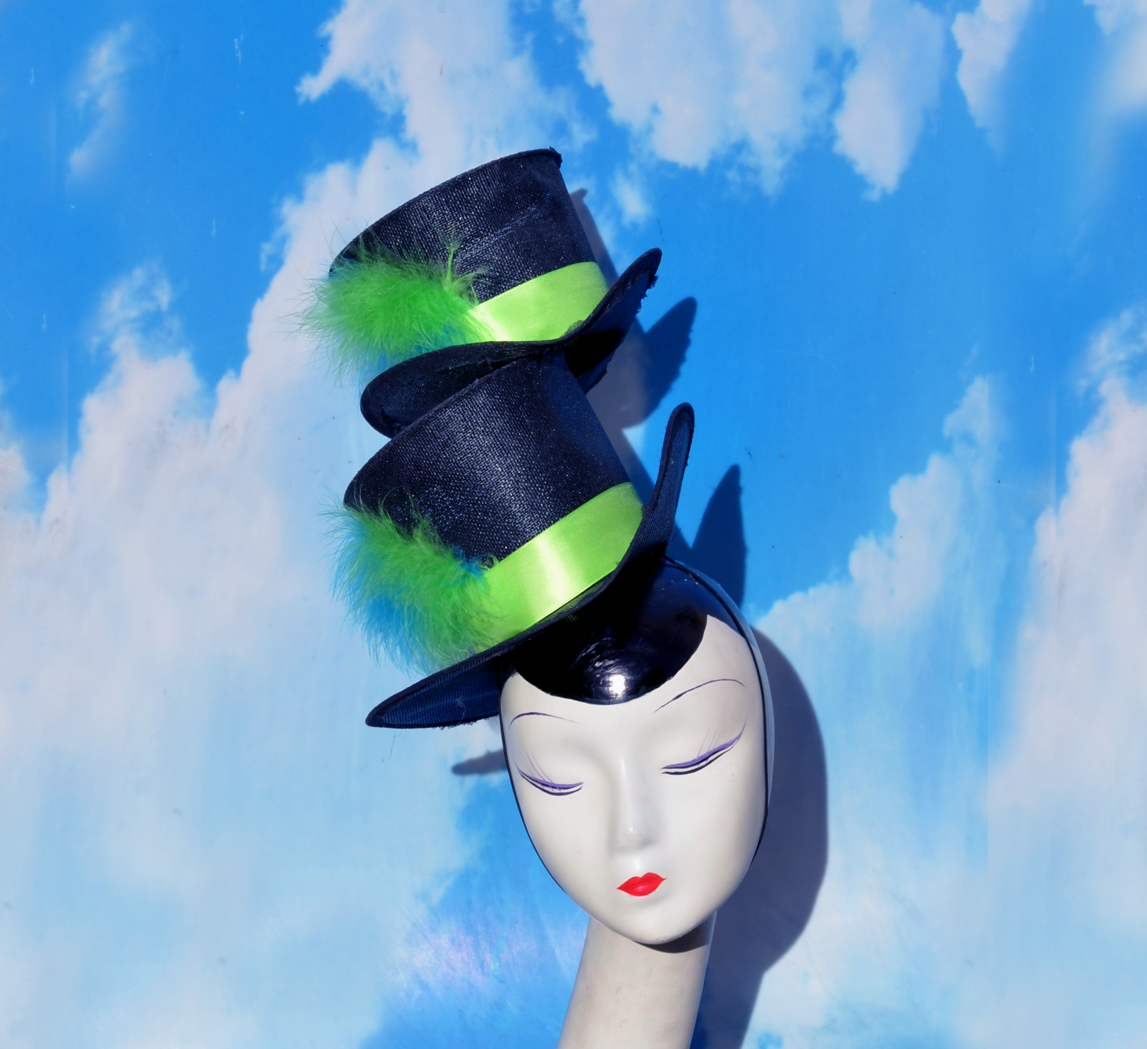 Surrealist Top Hat Stack (3)