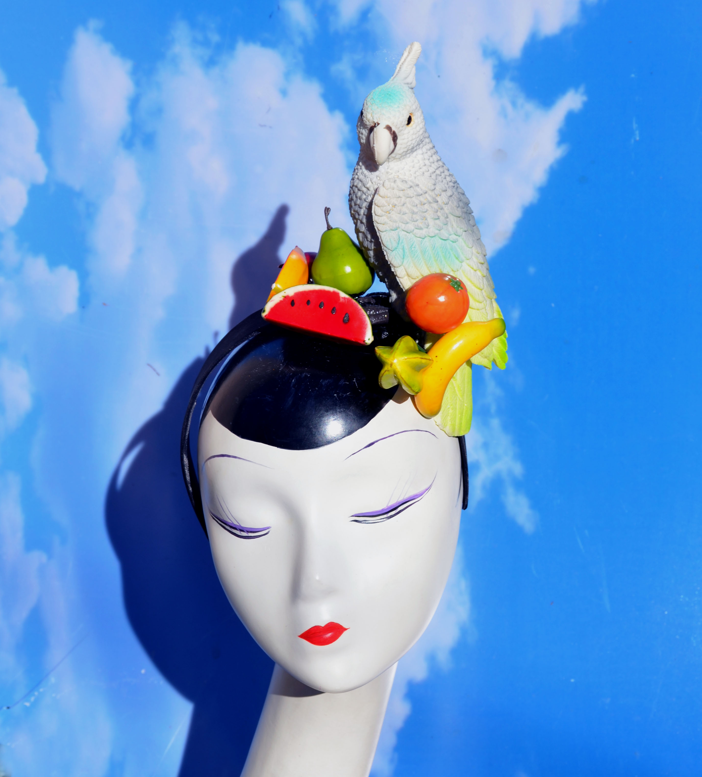 Parrot Fruit Headband