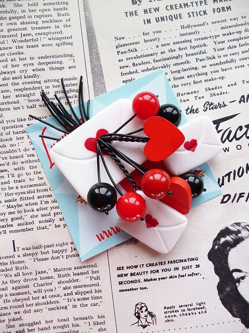 Vintage Valentines Collection - Love Letters 1940s 50s
