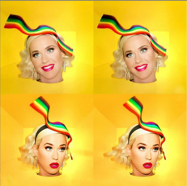 "Katy Perry for ""Daises (Can't Cancel Pride)"""