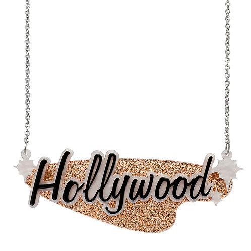 Tinsel Town Hollywood Necklace by Erstwilder | Hollywood Sign